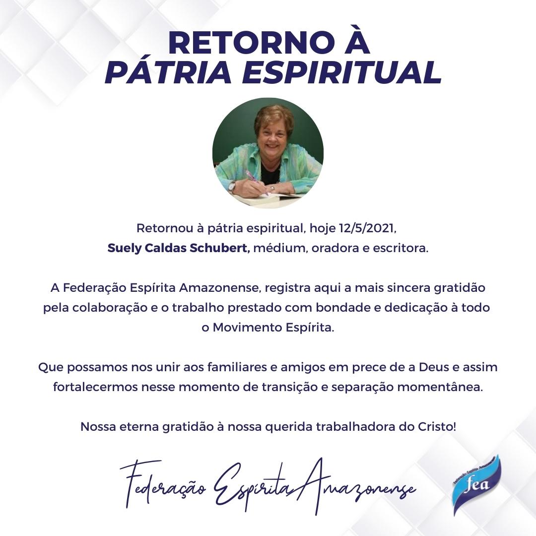 RETORNO À PÁTRIA ESPIRITUAL