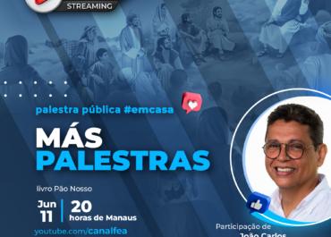 Más palestras | Palestra pública #EMCASA