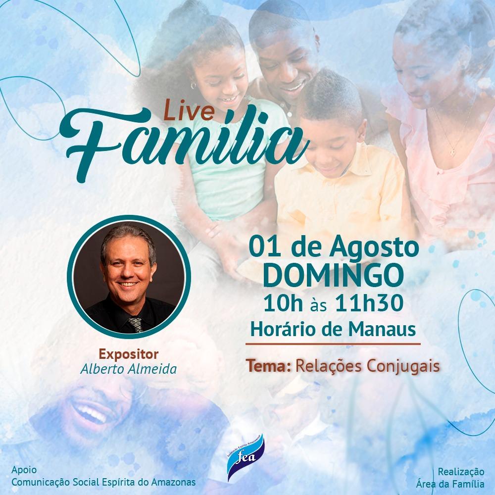 Live Área da Família   Relações conjugais