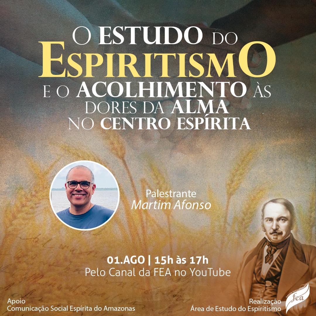 O estudo do espiritismo e o acolhimento as dores da alma no centro espírita
