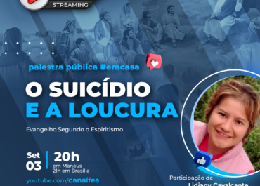 O suicídio e a Loucura | Palestra pública #EMCASA