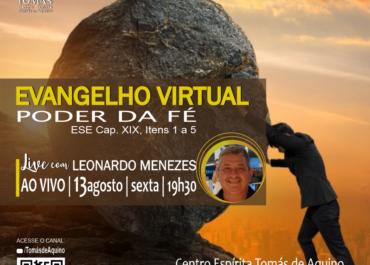 EVANGELHO VIRTUAL com Leonardo Menezes