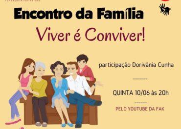 Encontro da Família. DEIJ Juventude 10/06/2021 às 20h